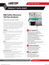 888 Sulfur Recovery Tail Gas Analyzer