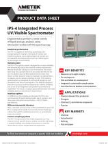 IPS-4 Integrated Process UV / Visible Spectrophotometer