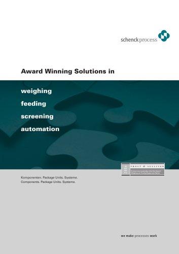 Award Winning Solutions