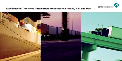 Flyer: Excellence in Transport Automation Processes over Road, Rail and Port