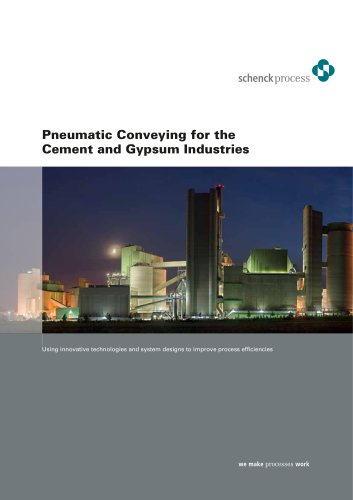 Pneumatic Conveying for the Cement and Gypsum Industries