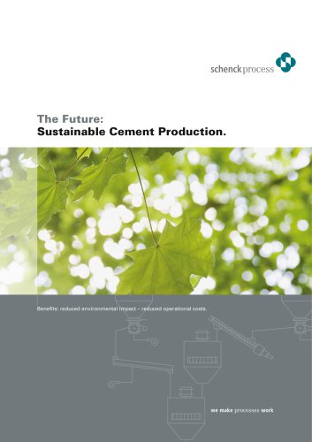 Sustainable Cement Production