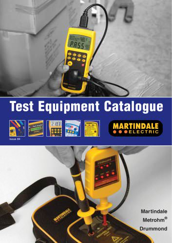 Test Equipment Catalogue