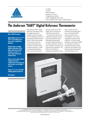 "The Anderson ""DART"" Digital Reference Thermometer"