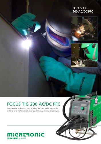 Focus TIG 200 AC/DC PFC