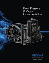 Flow, Pressure, and Vapor Instrumentation