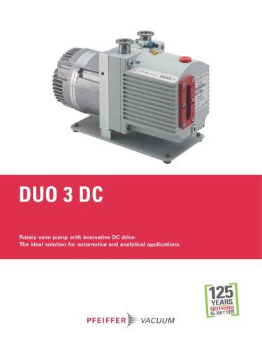 Duo 3 DC - Rotary vane pumps