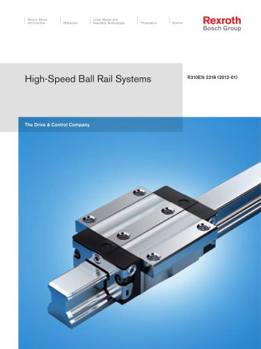 High-Speed Ball Rail Systems