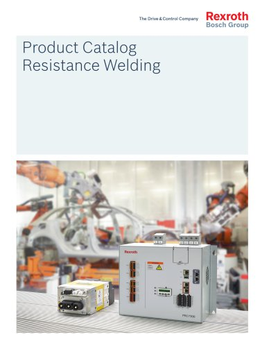 Product Catalog Resistance Welding