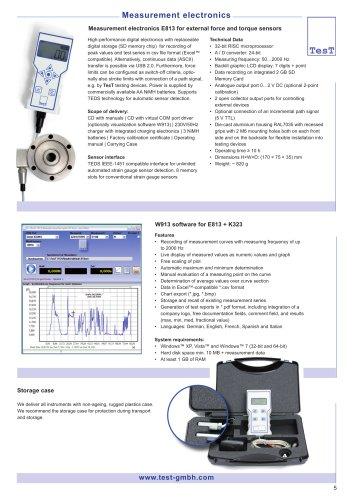 Electronic Indicators - Model 813