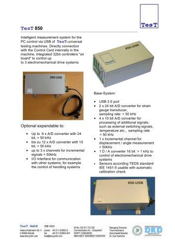 USB Contoller - Model 850