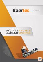 PVC AND PROFILE ALUMINIUM MACHINES