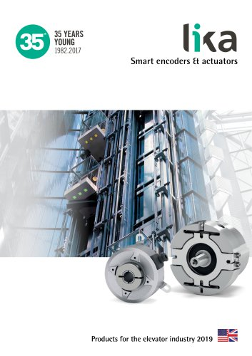Product for the elevator industry 2019