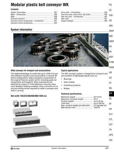 Conveyor system WK