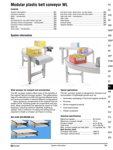 Conveyor System WL
