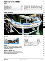 Conveyor System X300