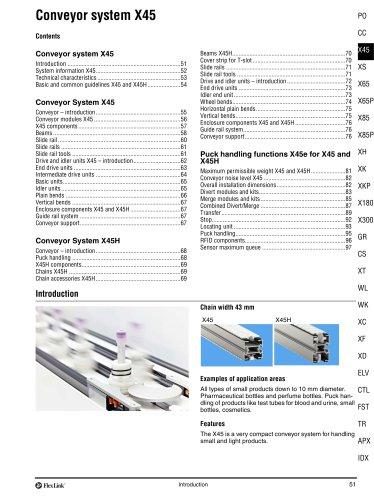 Conveyor System X45