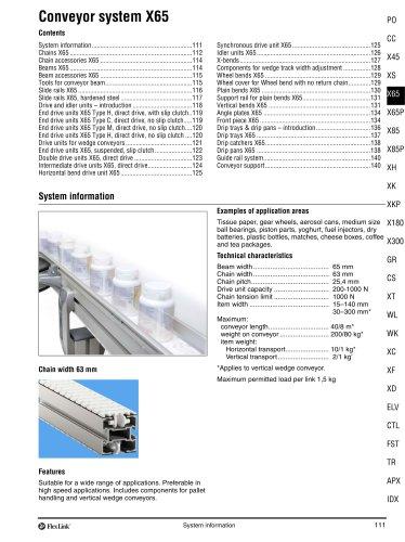 Conveyor System X65