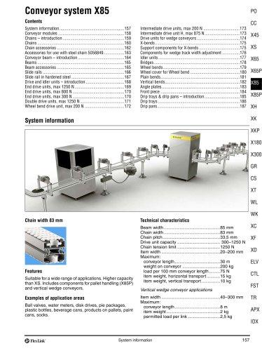 Conveyor System X85