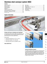 Conveyor system X85X and X85Y