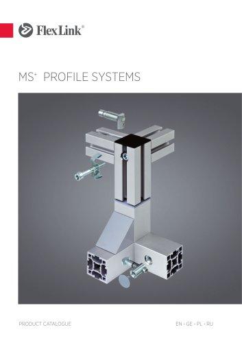 Profile system MS+
