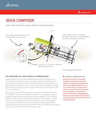 3DVIA Composer 2013