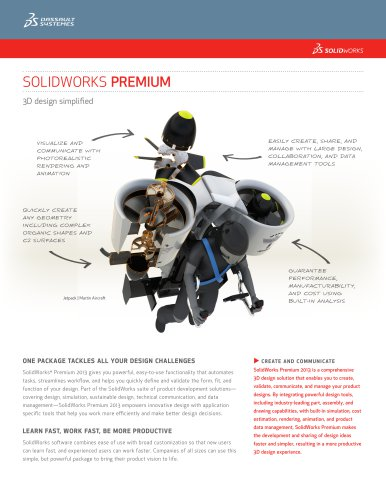 SolidWorks Premium Data Sheet