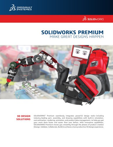 SOLIDWORKS PREMIUM MAKE GREAT DESIGNS HAPPEN