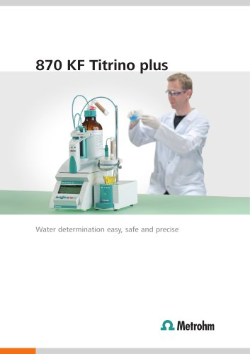 870 KF Titrino plus