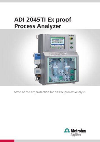 ADI 2045TI Ex proof Process Analyzer