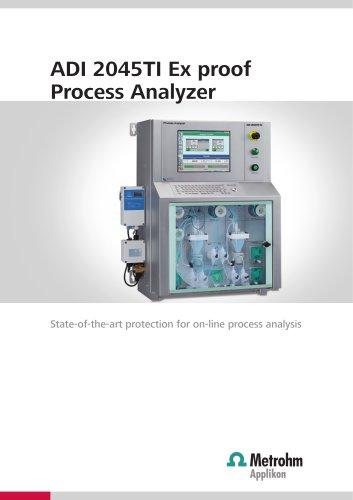 Analizador de proceso ADI 2045TI Ex proof