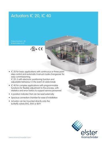 Actuators IC 20, IC 40