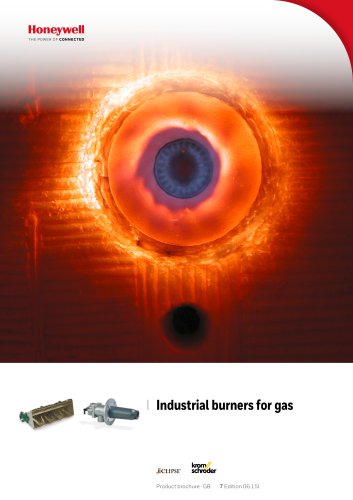 Burners for gas BIC, BICA, ZIC