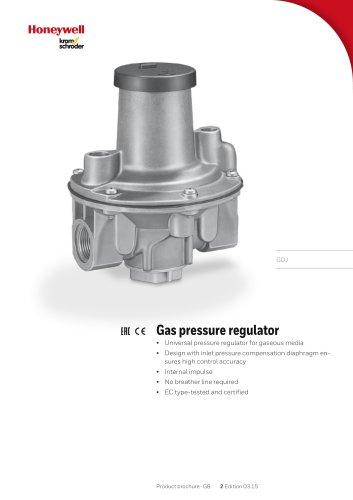 Gas Pressure Regulator GDJ