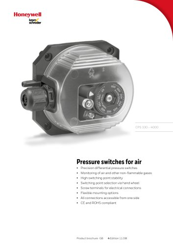 Pressure switches for air CPS