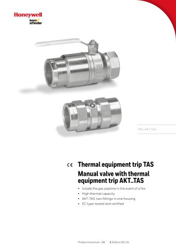 Thermal equipment trip TAS