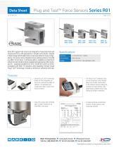 Plug and TestTM Force Sensors Series R01