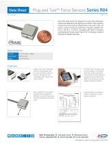 Plug and TestTM Force Sensors Series R04