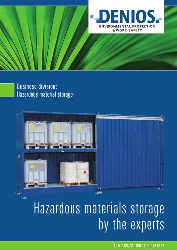 Hazardous storage brochure