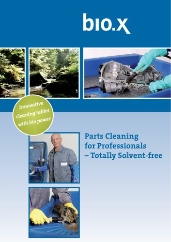 Parts Cleaning for Professionals Totally Solvent free for Professionals