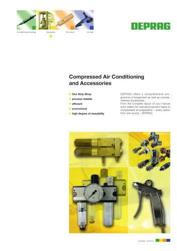 Compressed Air Conditioning and Accessories