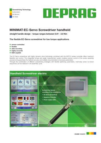 D 3496 – MINIMAT-EC-Servo screwdriver handheld