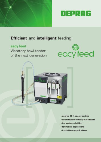 eacy feed – Vibratory bowl feeder of the next generation
