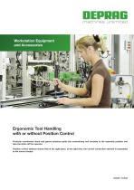 Ergonomic Tool Handling with or without Position Control