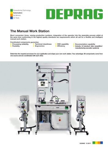 Manual Work Stations