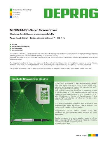 MINIMAT-EC-Servo Screwdriver