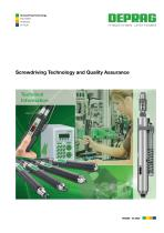Screwdriving Technology and Quality Assurance