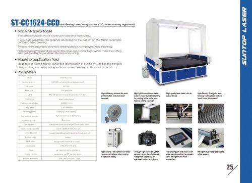 SUNTOP/Auto-Feeding Laser Cutting Machine(CCD camera scanning large-format)