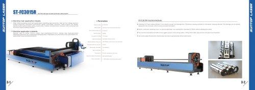 SUNTOP/CNC Fiber laser pipe and plate dual-function cutting machine
