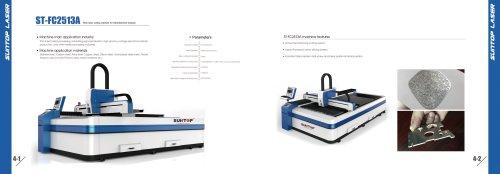 SUNTOP/Fiber laser cutting machine for Advertisement industry